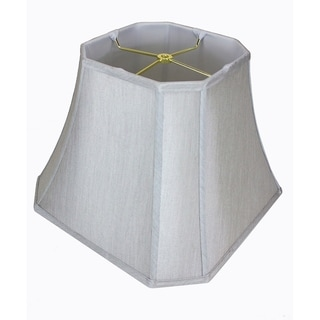 Link to 9x16x12 Square Cut Corner Shade Grey Similar Items in Lamp Shades
