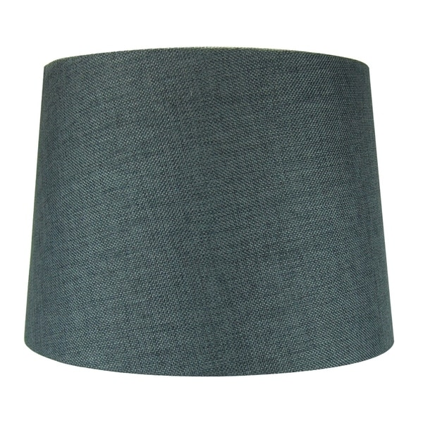12x14x10 Hardback Drum Lamp Shade Granite Grey