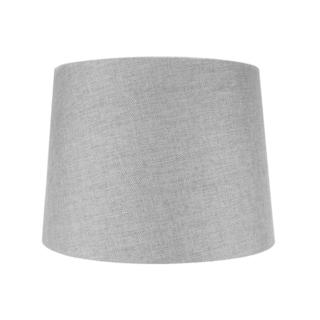 12x14x10 Hardback Drum Lamp Shade Granite Grey
