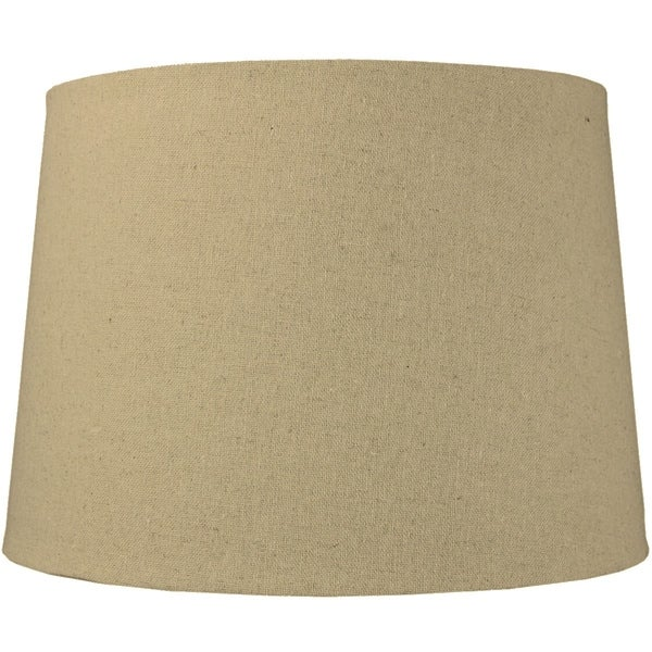 12x14x10 Sand Linen Drum Lampshade