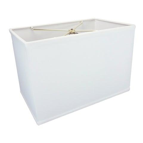 Rectangular Drum Lampshade (10x16) (10x16) x 11 White