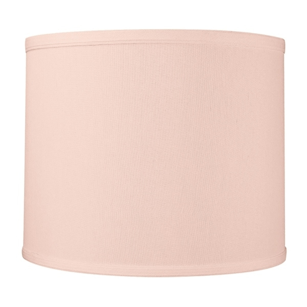 16x16x8 Drum Lamp Shade Premium Pale Dogwood Pink Free Shipping Today 18425498