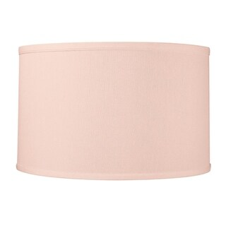 16x16x8 Drum Lamp Shade Premium Pale Dogwood Pink