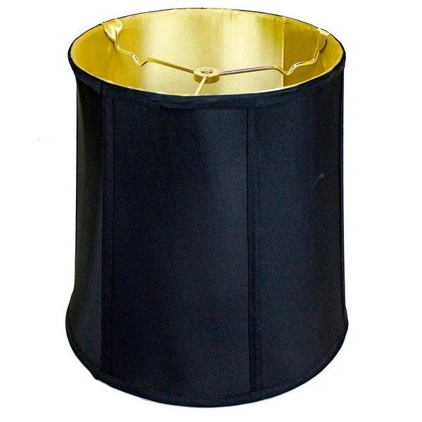 10x12x12 Black Shantung Fabric Lamp Shade