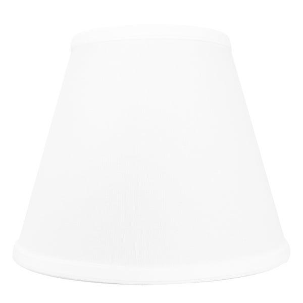 5x10x8 White Hardback Empire Lampshade