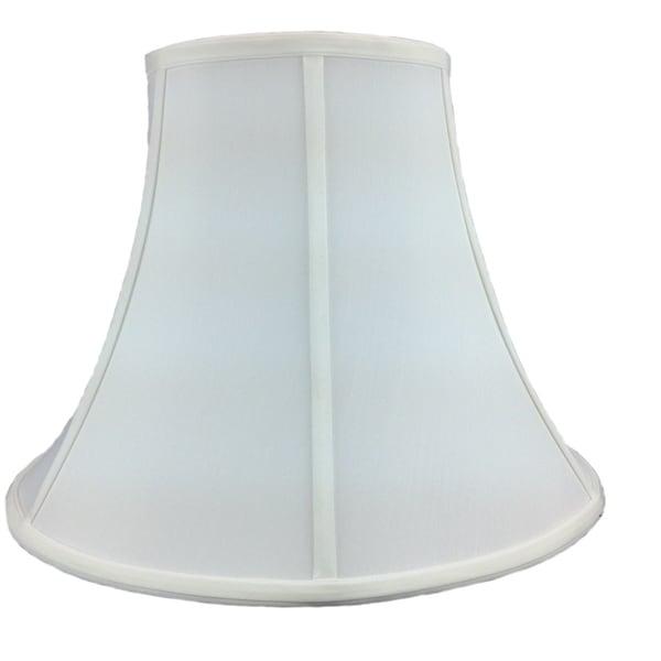 8x16x12 White Bell Shantung Shade