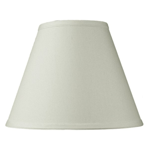 6x12x9 Hard Back Empire Lamp Shade Light Oatmeal