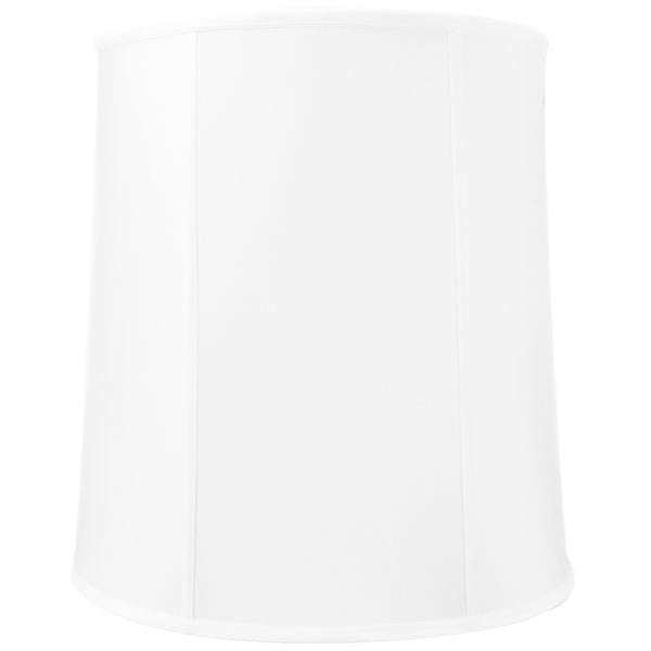 14x16x17 White Drum Shantung Lampshade