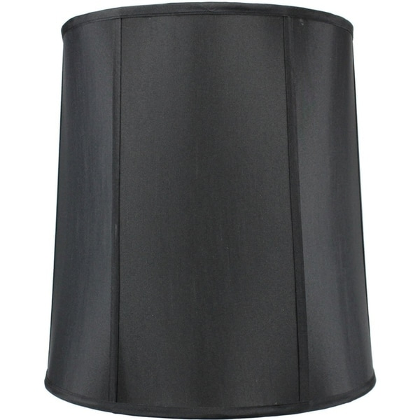 14x16x17 Black Shantung Lamp Shade