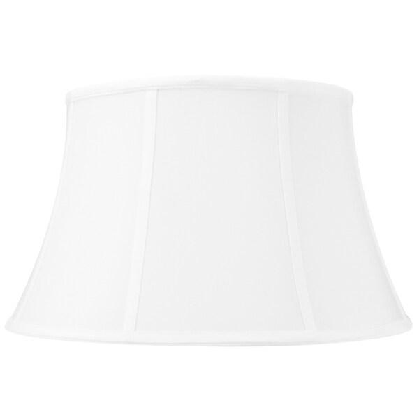 12x17x10 White Floor Shantung Lampshade