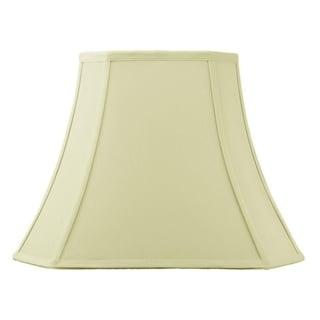 9x16x12 Square Cut Corner Lamp Shade Eggshell