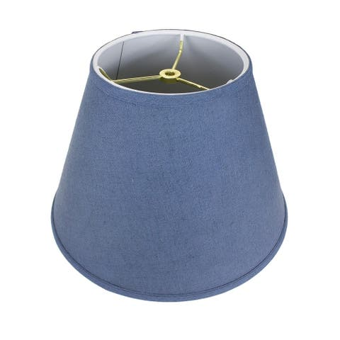 Textured Slate Empire Hardback Lamp Shade