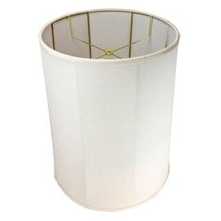 16x18x22 Collapsible Drum Lamp Shade Premium Light Oatmeal Linen