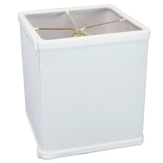 Link to Rectangular Drum Lampshade (6x6) (6x6) x 7 White Similar Items in Lamp Shades
