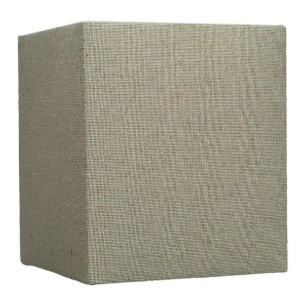 Rectangular Drum Lampshade (6x6) (6x6) x 7 Sand Linen
