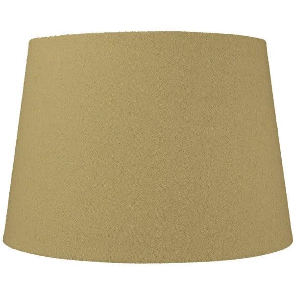 13x16x11 Sand Linen Floor Lampshade