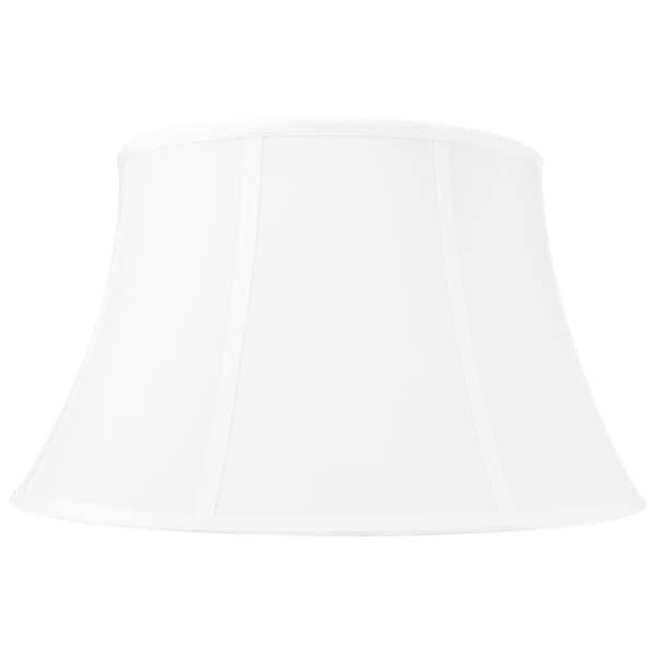 13x19x11 White Floor Shantung Lampshade