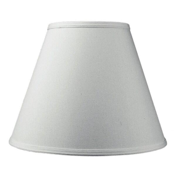 7x14x11 Hard Back Empire Lamp Shade White