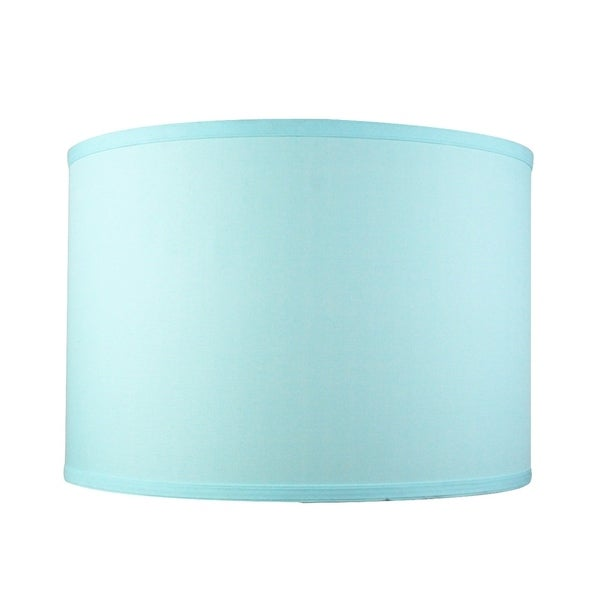 Island Paradise Shallow Drum Lampshade 16x16x11
