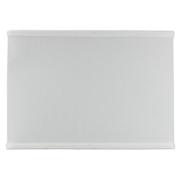 Rectangular Drum Lampshade (8x14) (8x14) x 10 White