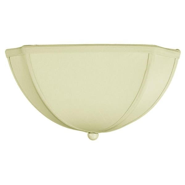 Ceiling Lampshade Eggshell Shantung
