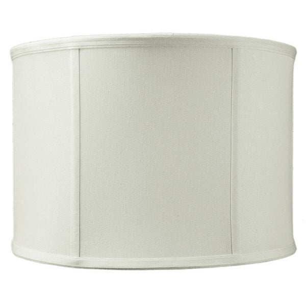 14x14x10 Drum Lamp Shade Premium Light Oatmeal Linen