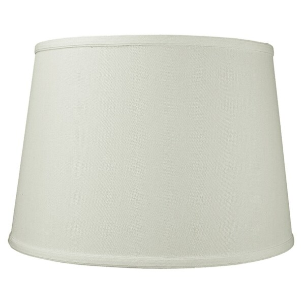 13x16x11 Light Oatmeal Linen Floor Lampshade