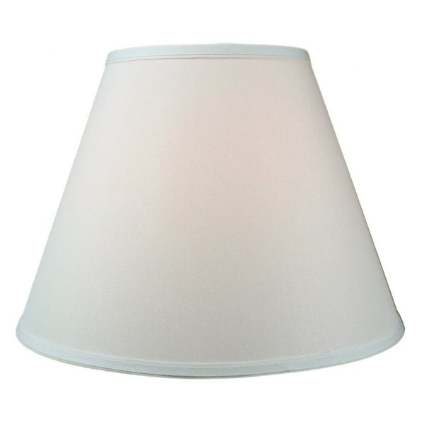 8x16x12 Hard Back Empire Lampshade Light Oatmeal