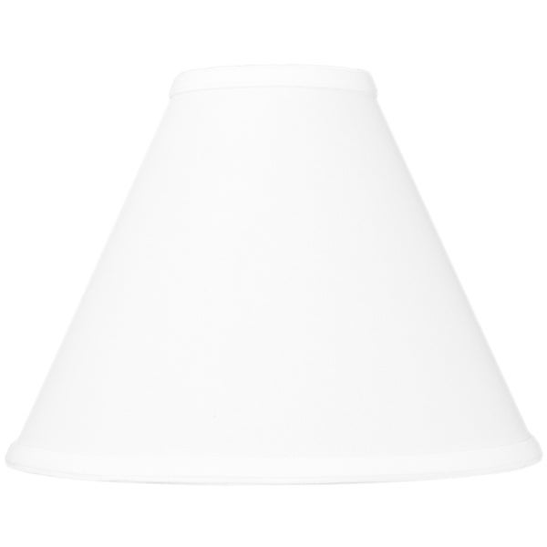 4x11x9 White Coolie Lampshade