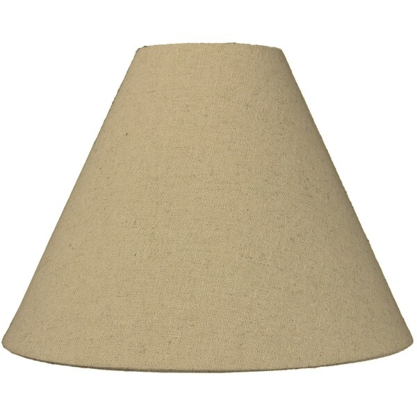 4x11x9 Sand Linen Coolie Lampshade