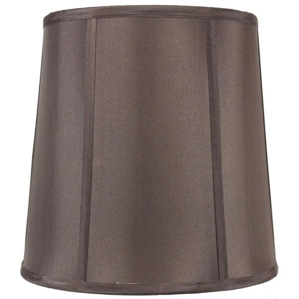 10x12x12 Chocolate Shantung Fabric Lamp Shade