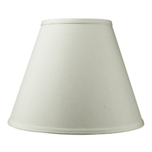 7x14x11 Hard Back Empire Lamp Shade Light Oatmeal