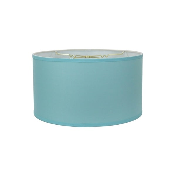 Island Paridise Blue Shallow Drum Lampshade 18x18x10
