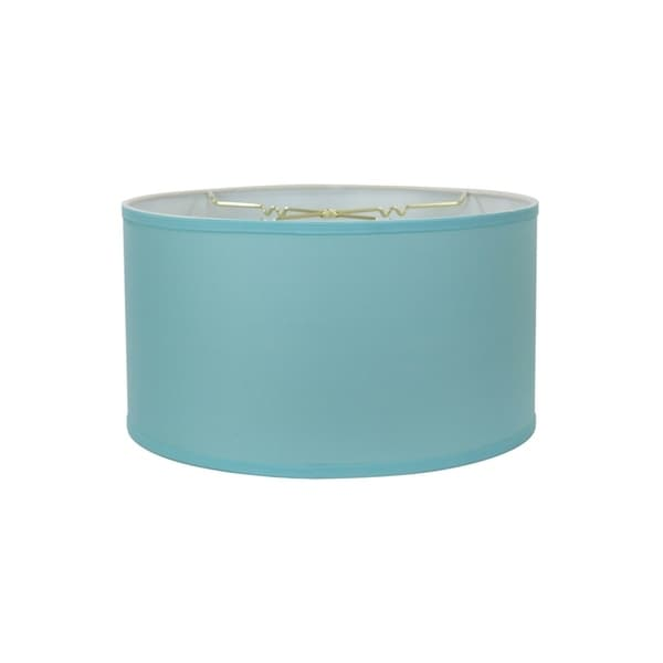 Island Paridise Blue Shallow Drum Lampshade 18x18x10. Opens flyout.