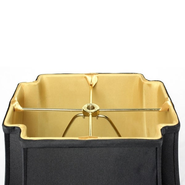 9x16x13 Black with Gold Liner Lampshade