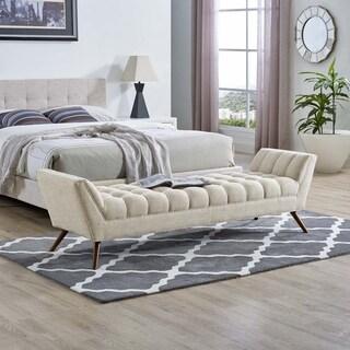 Response Medium Upholstered Fabric Bench