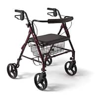 Medline Extra-wide Bariatric Heavy-duty 400 lb. Weight Capacity Rollator Walker