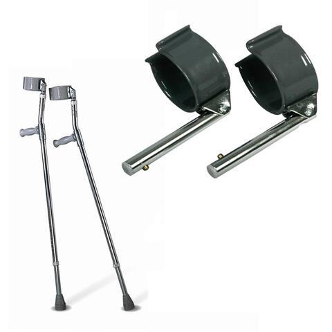 Medline Tall Forearm Crutches