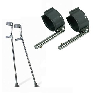 Medline Tall Forearm Crutches
