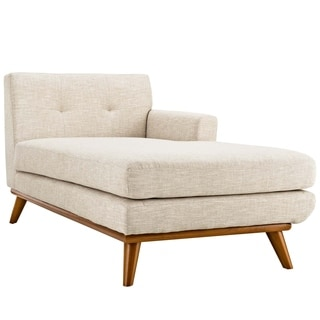 Engage Left-Arm Upholstered Chaise  sc 1 st  Overstock : left arm chaise lounge - Sectionals, Sofas & Couches