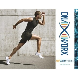 DNA WORX Sports and Nutrition DNA Genetic Test