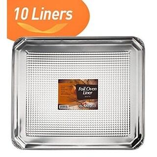 MEDca Foil Oven Liner 18.5 X 15.5 Inch Set of 10