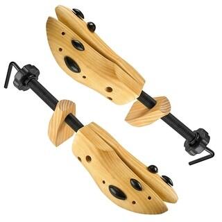 MEDca Professional 2-Way Wooden Shoe Stretcher, Deluxe Wooden Shoe Tree for Men or Women|https://ak1.ostkcdn.com/images/products/18496145/P24609778.jpg?_ostk_perf_=percv&impolicy=medium