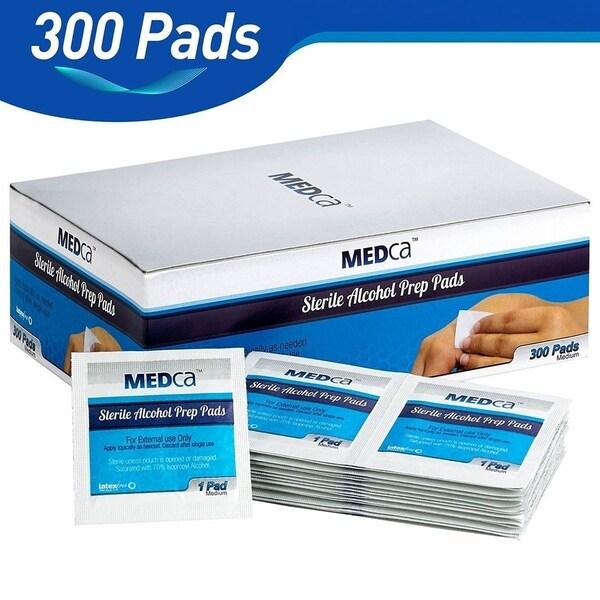 7b9632dfa5129 Shop MEDca Alcohol Medium Prep Pads Sterile 2-Ply (Pack of 300 ...