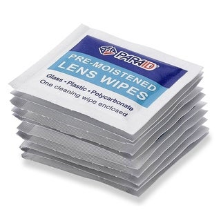 MEDca Premoistened Lens and Glass Cleaning Wipes
