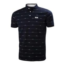 Men's Helly Hansen Fjord Polo Shirt Navy Boat
