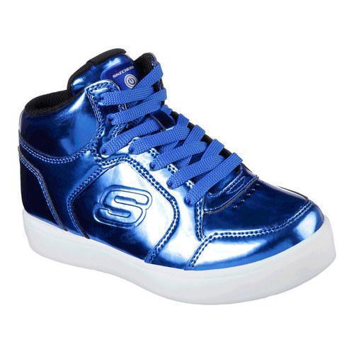 Children's Skechers S Lights Energy Lights Eliptic High Top Sneaker Royal
