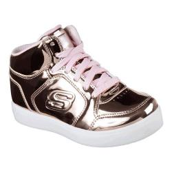 Girls' Skechers S Lights Energy Lights High Top Rose Gold