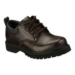 Men's Skechers Alley Cats Dark Brown (CDB)