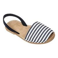 Women's Tidewater Sandals Boca Slingback Sandal Navy/Natural